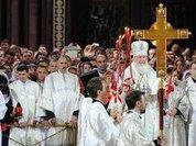 Владимир Путин поздравил православных с праздником Пасхи