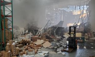 В пригороде Лос-Анджелеса в одно из зданий врезался истребитель F-16