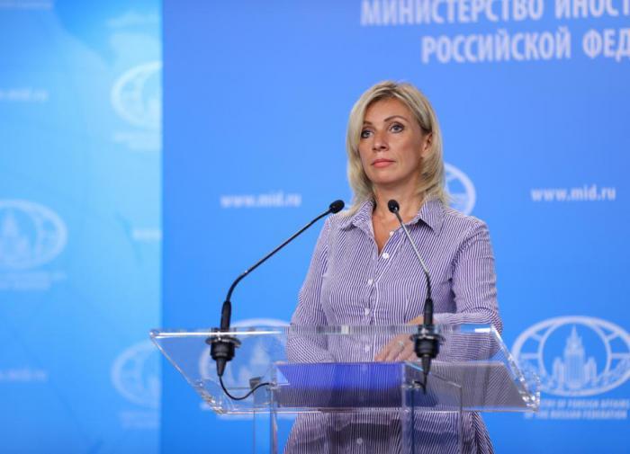 """""""Грязнейший образец"""": Захарова высказалась о словах генсека НАТО"""
