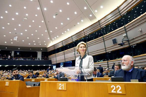 """Председатель Еврокомиссии объявила о """"европейской зеленой сделке"""""""