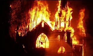 В Наварре марокканские исламисты сожгли самую старую церковь