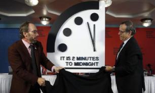 """""""Часы Судного дня"""" показывают 100 секунд до """"ядерной полуночи"""""""
