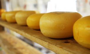 """В порту Санкт-Петербурга задержаны 24 тонны сыра """"Пармезан"""" с плесенью"""