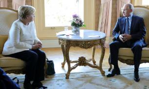 В Париже началась встреча Меркель и Путина