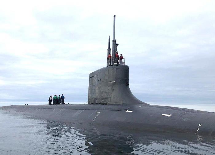 """ВМФ США послал """"предупреждающий сигнал"""" Кремлю от берегов Норвегии"""
