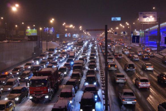 Московские власти опровергли лидерство столицы России по пробкам в мире