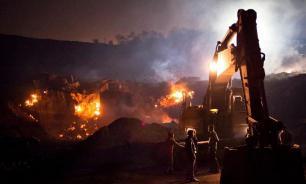 Пожар на шахте в Коми: двоих горняков еще не нашли