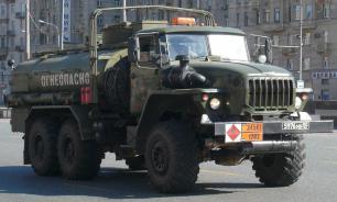 Водитель сгорел при столкновении двух бензовозов под Кемерово