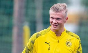 Холанд признан футболистом недели в Лиге чемпионов