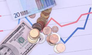 Евро вырос до 75 рублей впервые за год