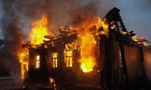 Дом Ельцина в Свердловской области после пожара разберут на дрова