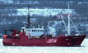 """Пять кораблей ведут поиски пропавшего экипажа судна """"Онега"""""""