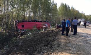 Названа причина ДТП с автобусом в Хабаровском крае