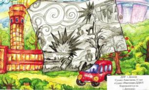 Чтобы мир увидел правду: дети Донбасса нарисовали военное детство