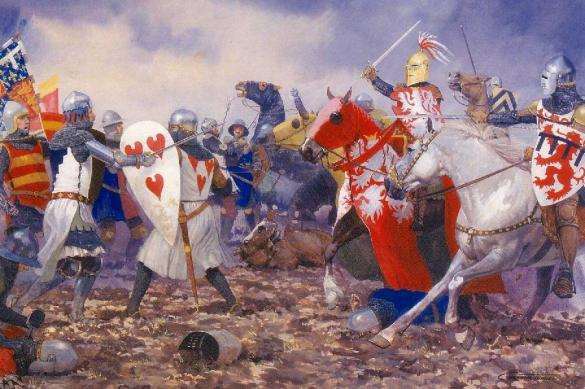 Одно из первых сражений Столетней войны: Битва при Креси