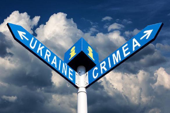 Бывший украинский министр назвал блокаду Крыма ошибкой