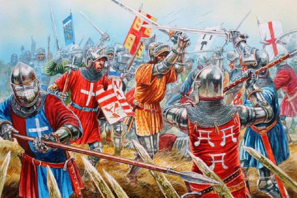 Битва при Креси: одно из первых сражений Столетней войны