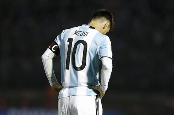 Месси отстранен от выступлений за сборную Аргентины на 3 месяца