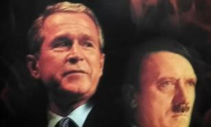 Похож ли Буш на Гитлера?