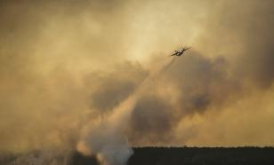 В Сибири увеличили численность авиации для тушения пожаров