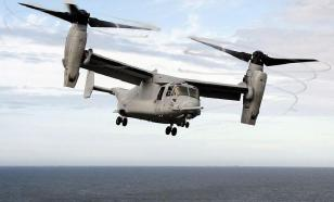 Новые проблемы ВВС США: на учения в Японии опоздали Osprey MV-22
