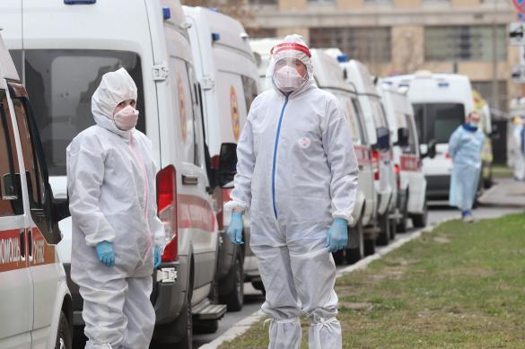 Почти 100 тысяч случаев коронавируса зарегистрировано в России