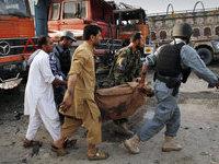 Афганистан: жертвами смертника стали три человека.