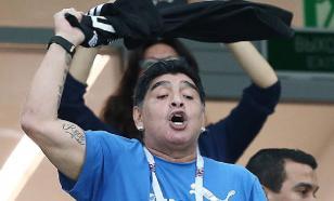 За неделю до смерти Марадона сильно ударился головой