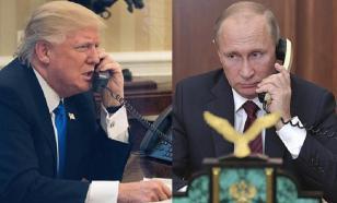 Стало известно, о чём Путин и Трамп говорили по телефону
