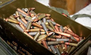 Академия аграрных наук на Украине хранила в тайнике оружие и боеприпасы