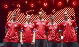 Сборная России отказалась выходить на матчи в форме с флагом Сербии