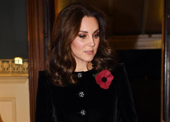 Герцогиня Кембриджская нарушила правила королевского этикета