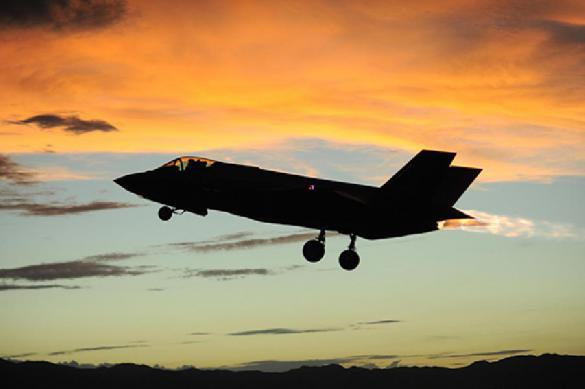 Два F-35 не смогли долететь до Финляндии из-за плохой погоды