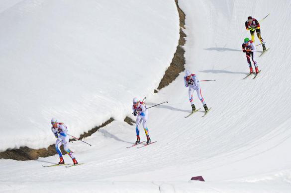 Российские лыжники не смогли завоевать медалей на старте юниорского ЧМ
