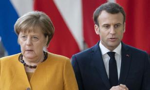 СМИ: Макрон получил шанс лишить Меркель европейской короны