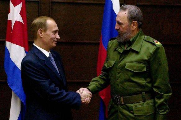 """Daily Express: главная """"мишень"""" США Кастро учил Путина выживанию"""