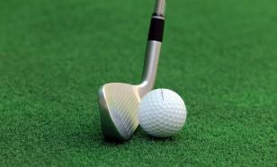 Чулпан Хаматовой помогают гольфисты