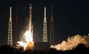 SpaceX потеряла ступень тяжелой ракеты Falcon Heavy