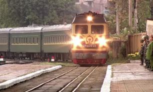 Поезд Ким Чен Ына замечен на северокорейском курорте
