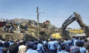 Жертвами обвала  на огромной мусорной свалке  в Аддис-Абебе стали 35 человек