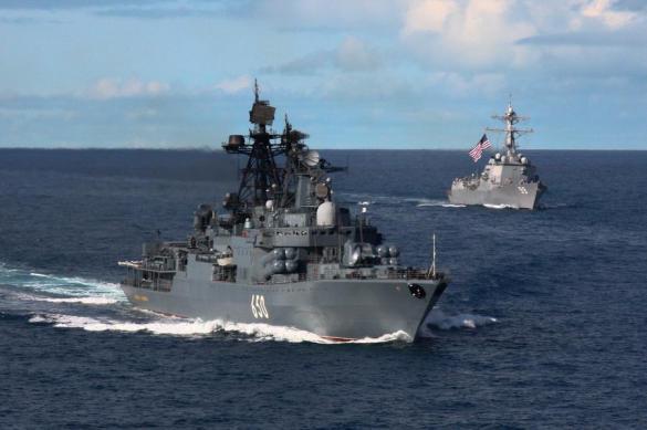 Морские пехотинцы КФл провели двустороннее тактическое учение