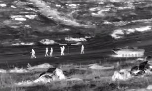 Смотрим через прицел: опубликовано видео уничтожения боевиков