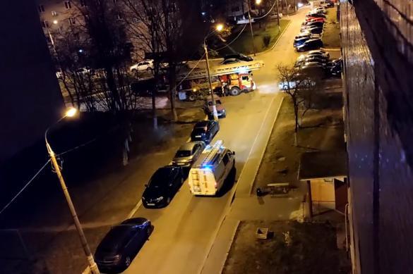 В Подмосковье полицейские спасли 20 человек из горящего дома