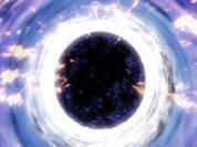 Черная дыра обедает звездами