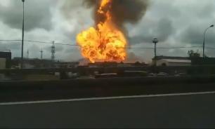 В Мытищах загорелись газовые резервуары на Северной ТЭЦ