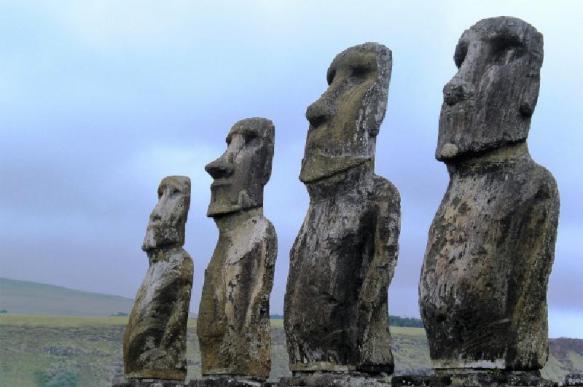 Раскрыта тайна истуканов-моаи с острова Пасхи