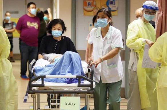 За ночь в Китае от вирусной пневмонии умерли еще восемь человек