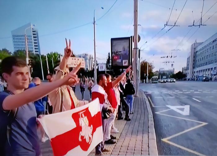 Ущерб от акций протеста в Минске превысил 750 тыс. рублей