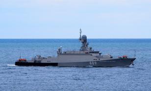 """Экипаж ракетного корабля """"Вышний Волочёк"""" отработал приёмы морского боя"""