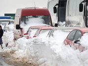 Трасса М-10: хроники снежной блокады